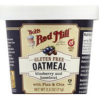 Bob's Red Mill Oatmeal, Blueberry and Hazelnut, 2.5 Ounce