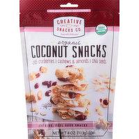 Creative Snacks Coconut Snacks, Organic, 4 Ounce