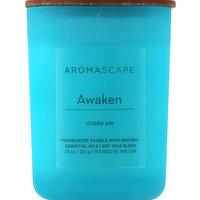 Aromascape Candle, Ocean Air, Awaken, 1 Each