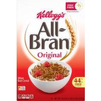 All Bran Cereal, Wheat Bran, Original, 18.6 Ounce