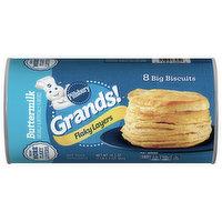 Pillsbury Biscuits, Flaky Layers, Buttermilk, 8 Each