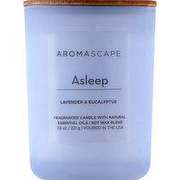 Aromascape Candle, Lavender & Eucalyptus, Asleep, 1 Each