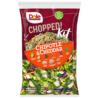 Dole Chopped Kit, Chipotle & Cheddar, 12 Ounce