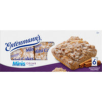 Entenmann's Crumb Cake, Minis, 6 Each