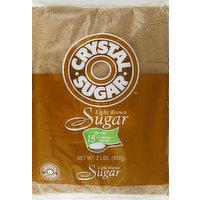 Crystal Sugar Sugar, Light Brown, 2 Pound