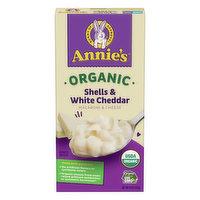 Annie's Macaroni & Cheese, Organic, Shells & White Cheddar, 6 Ounce