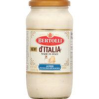 Bertolli Sauce, Alfredo, D'Italia, 16.9 Ounce
