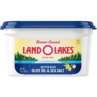 Land O Lakes Butter with Olive Oil & Sea Salt, 21 Ounce