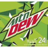 Mountain Dew Soda, 24 Each