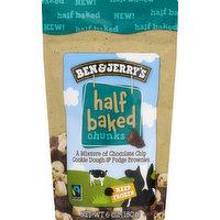 Ben & Jerrys Chunks, Half Baked, 6 Ounce