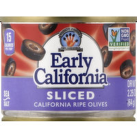Early California Olives, California Ripe, Sliced, 2.25 Ounce