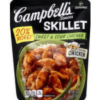 CAMPBELLS Skillet Sauces, Sweet & Sour Chicken, 11 Ounce
