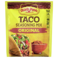 Old El Paso Seasoning Mix, Taco, Original, 1 Ounce