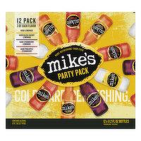 Mike's Beer, Malt Beverage, Premium, Party Pack, 12 Pack, 12 Each