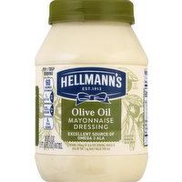Hellmann's Mayonnaise Dressing, Olive Oil, 30 Ounce