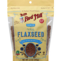 Bob's Red Mill Flaxseed, Whole, Premium, 13 Ounce