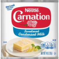 Carnation Condensed Milk, Sweetened, 14 Ounce