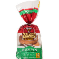 Canyon Bakehouse Bagels, Everything, 4 Each