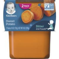 Gerber Sweet Potato, Sitter, 2nd Foods, 2 Pack, 2 Each