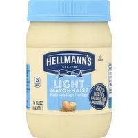 Hellmann's Mayonnaise, Light, 15 Ounce