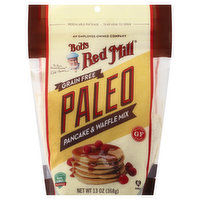 Bobs Red Mill Pancake & Waffle Mix, Grain Free, Paleo, 13 Ounce