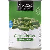 Essential Everyday Green Beans, Cut, 14.5 Ounce