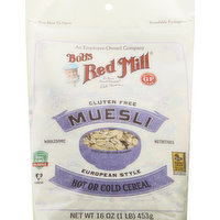 Bob's Red Mill Muesli, Gluten Free, European Style, 16 Ounce