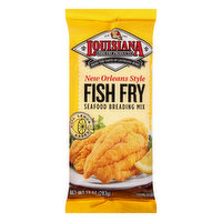 Louisiana Fish Fry Products Seafood Breading Mix, Fish Fry, New Orleans Style, 10 Ounce