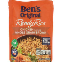 Ben's Original Ready Rice, Chicken Flavored, Whole Grain Brown, 8.8 Ounce