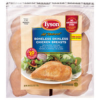 Tyson Chicken Breast, Boneless, Skinless, Thin Sliced, Uncooked, 40 Ounce