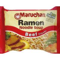 Maruchan Ramen Noodle Soup, Beef Flavor, 3 Ounce