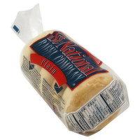 1st National Bagel Bagels, Plain, Pre-Sliced, 5 Each