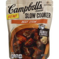 CAMPBELLS Slow Cooker Sauces, Beef Stew, 12 Ounce
