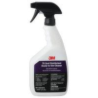 3M Cleaner, Ready-to-Use, TB Quat Disinfectant, 1 Quart