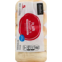 Essential Everyday Bagels, Plain, Artisan Style, Pre-Sliced, 5 Each