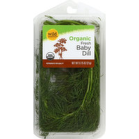 Wild Harvest Baby Dill, Organic, Fresh, 0.75 Ounce