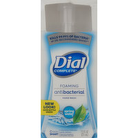 Dial Hand Wash, Foaming, Antibacterial, Spring Water, 7.5 Fluid ounce