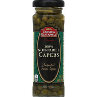 Crosse & Blackwell Capers, 100% Non-Pareil, 3.5 Ounce