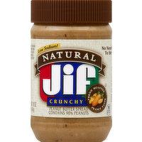 Jif Peanut Butter Spread, Crunchy, 16 Ounce