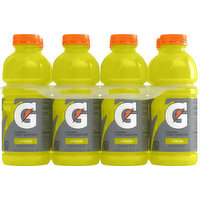 Gatorade Thirst Quencher, Lemon-Lime, 8 Pack, 8 Each
