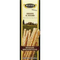 Alessi Breadsticks, Sesame, 4.4 Ounce