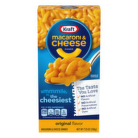 Kraft Macaroni & Cheese Dinner, Original Flavor, 7.25 Ounce