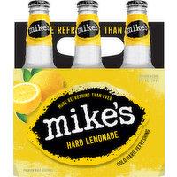 Mike's Beer, Malt Beverage, Premium, Hard Lemonade, 6 Each