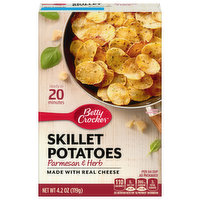 Betty Crocker Skillet Potatoes, Parmesan & Herb, 4.2 Ounce