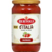 Bertolli Sauce, Marinara, D'Italia, 24.7 Ounce