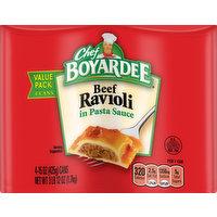 Chef Boyardee Beef Ravioli, in Pasta Sauce, Value Pack, 4 Each