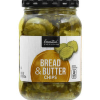 Essential Everyday Chips, Bread & Butter, 16 Ounce