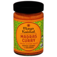Maya Kaimal Indian Simmer Sauce, Madras Curry, Spicy, 12.5 Ounce