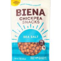 Biena Chickpea Snacks, Sea Salt, 5 Ounce