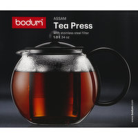 Bodum Tea Press with Stainless Steel Filter, 34 Ounce, 1 Each